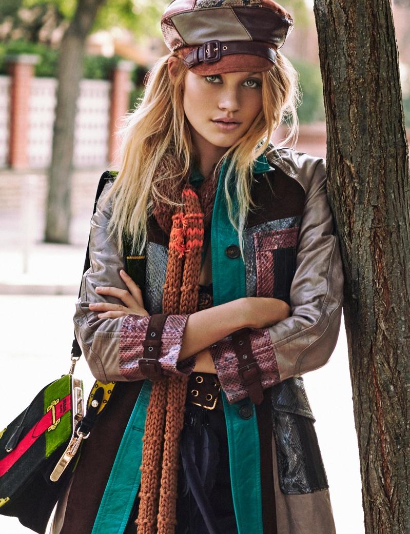 Caroline Corinth Embraces 60's Fashion for ELLE Spain