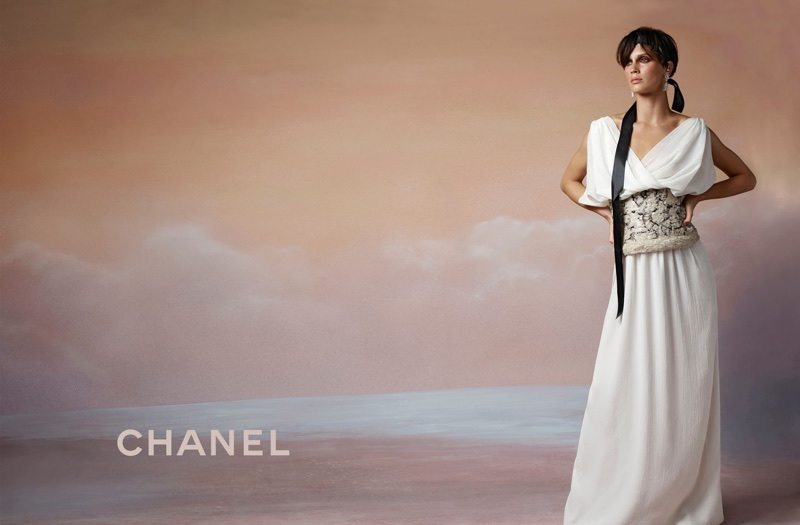 French actress Marine Vacth fronts Chanel's cruise 2018 campaign