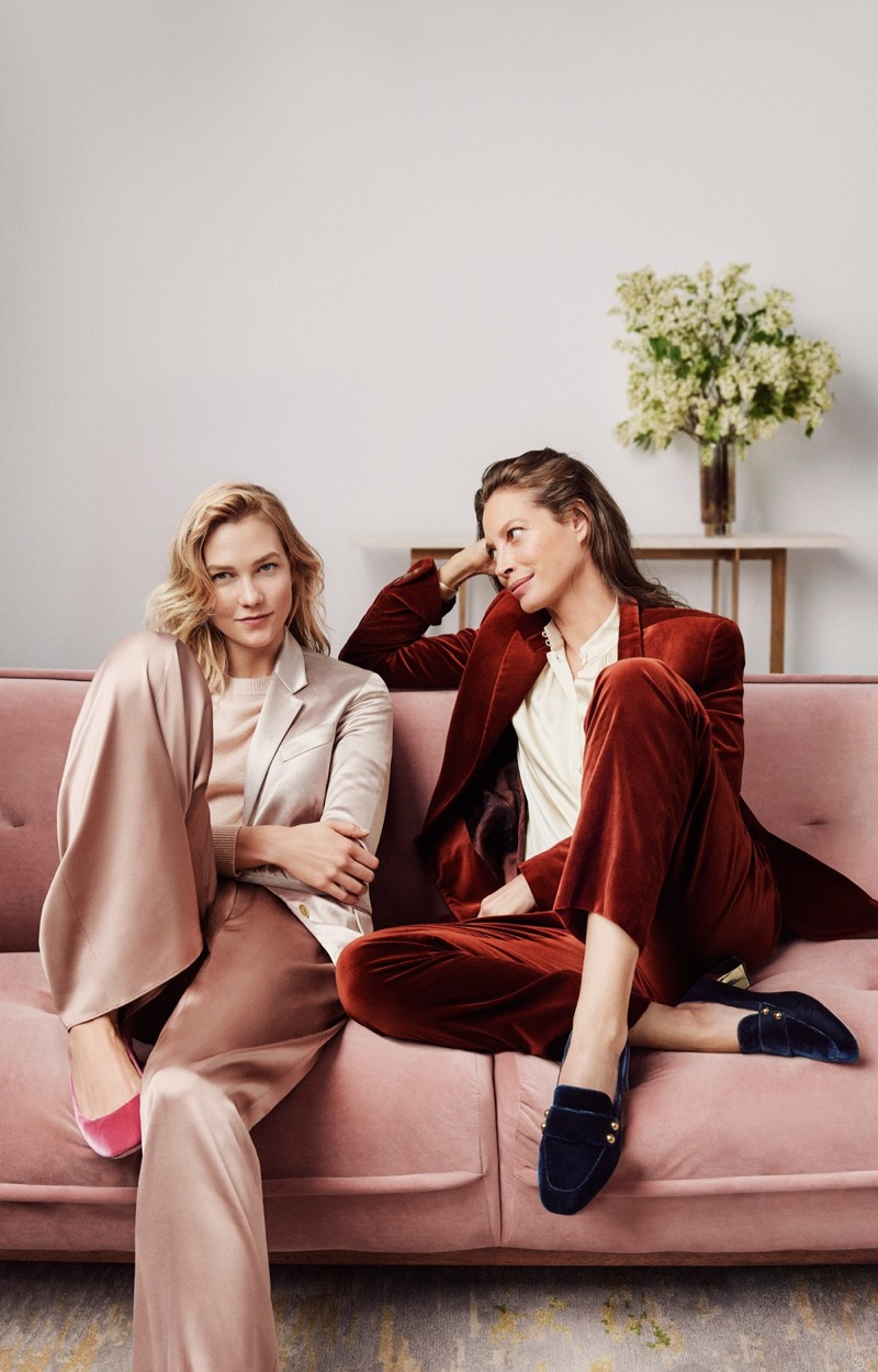 Karlie Kloss and Christy Turlington star in Cole Haan's fall-winter 2017 campaign
