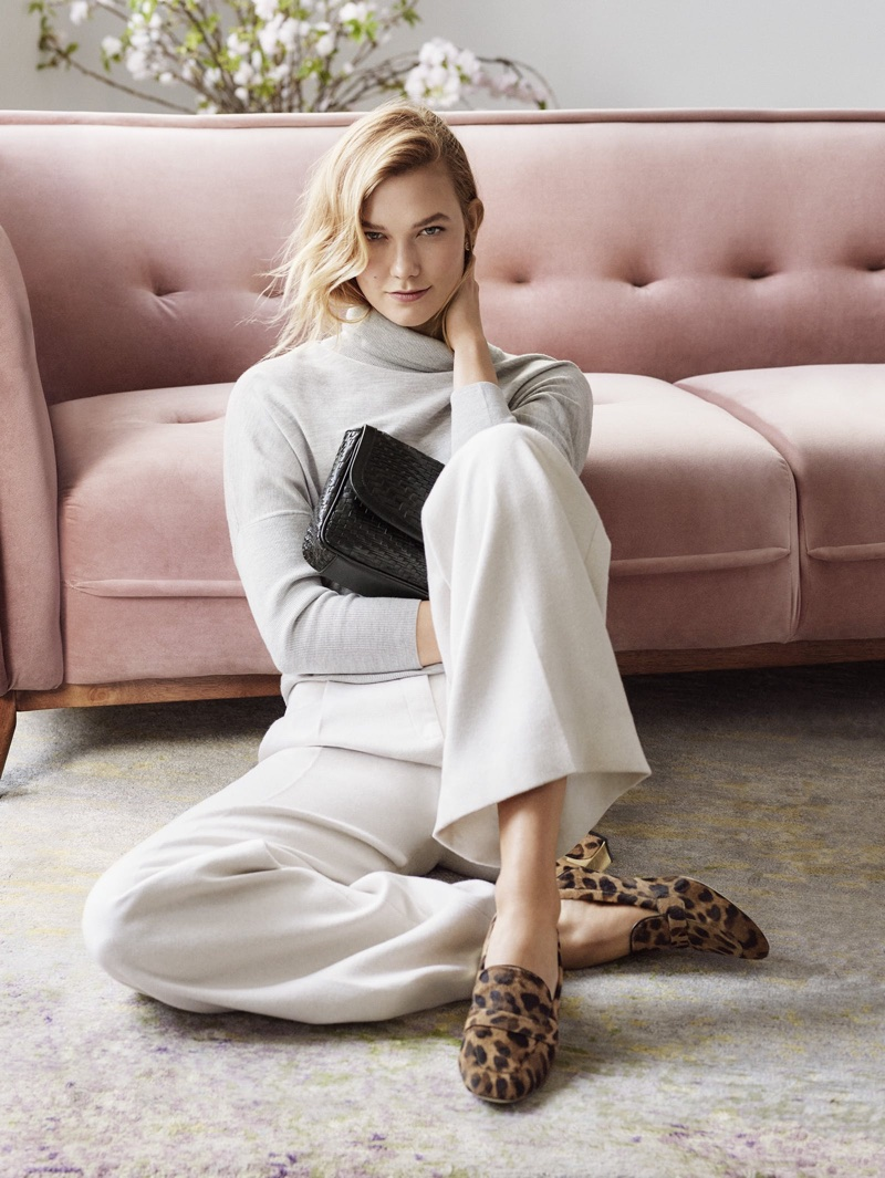Karlie Kloss for Cole Haan fall-winter 2017 campaign
