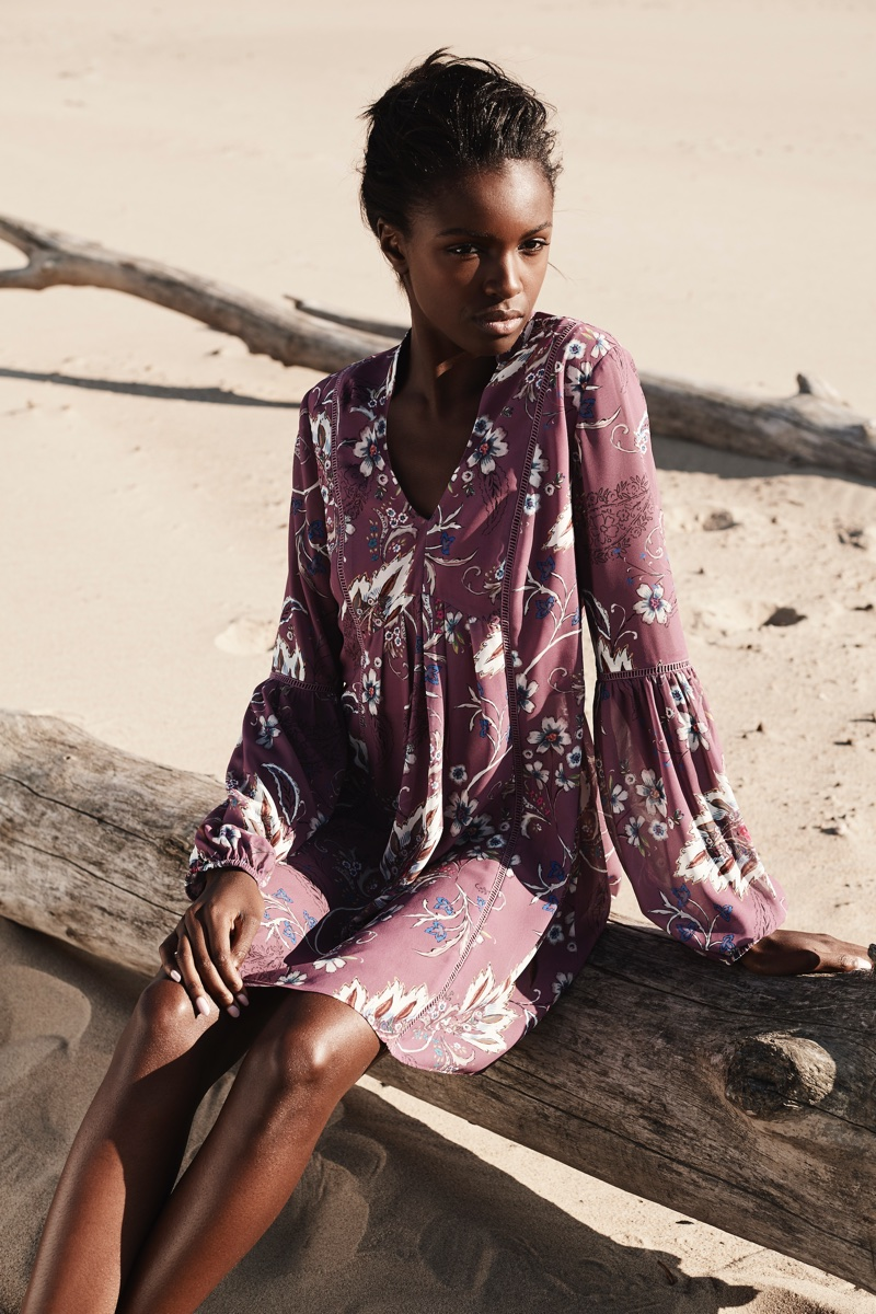 Curatd x Long Tall Sally features swing tunic in fall-winter 2017 campaign