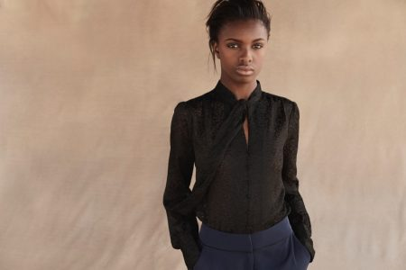 Leomie Anderson Wears Chic Looks in Curated x Long Tall Sally's Fall 2017 Campaign