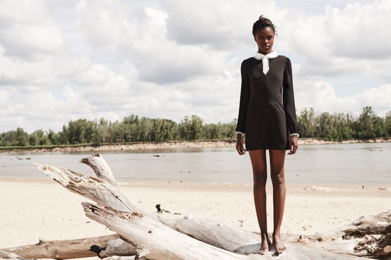 Curatd x Long Tall Sally taps Leomie Anderson for its fall-winter 2017 campaign
