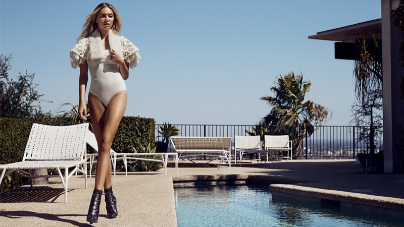 Delilah Belle Turns Up the Heat in Grazia Australia Shoot