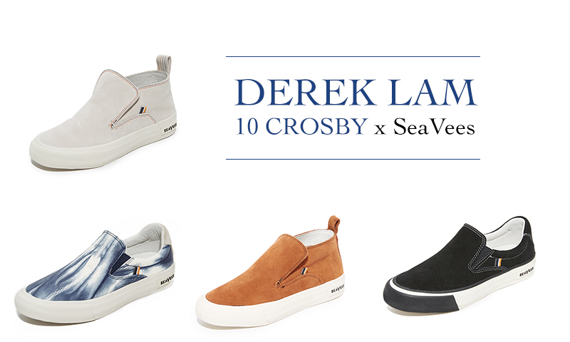 Derek Lam 10 Crosby x SeaVees sneaker collaboration