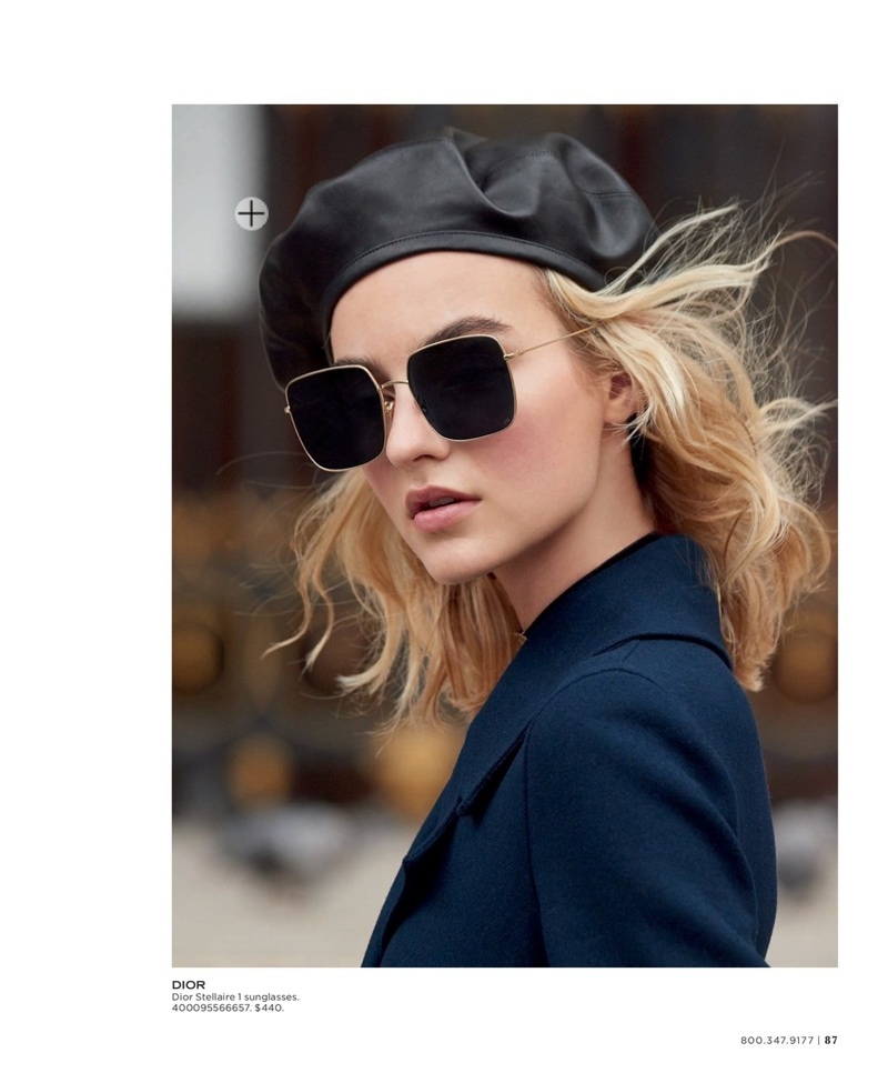 Maartje Verhoef Charms in Dior's Fall Looks for Saks Fifth Avenue