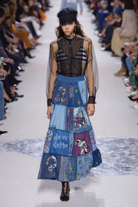 Dior Goes Arty for Spring 2018