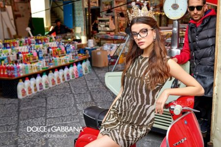 Dolce & Gabbana Sets Fall 2017 Eyewear Campaign in Palermo