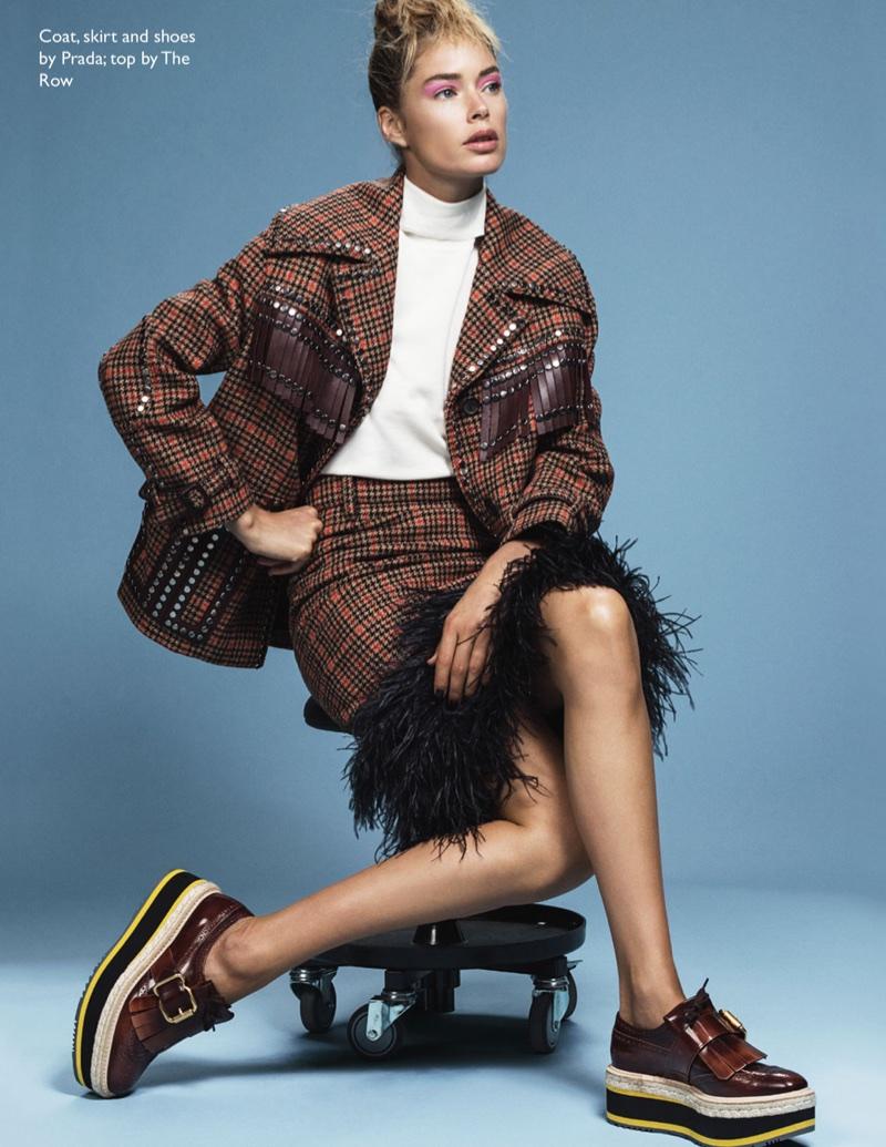 Doutzen Kroes Models Fashion Forward Looks for The Edit