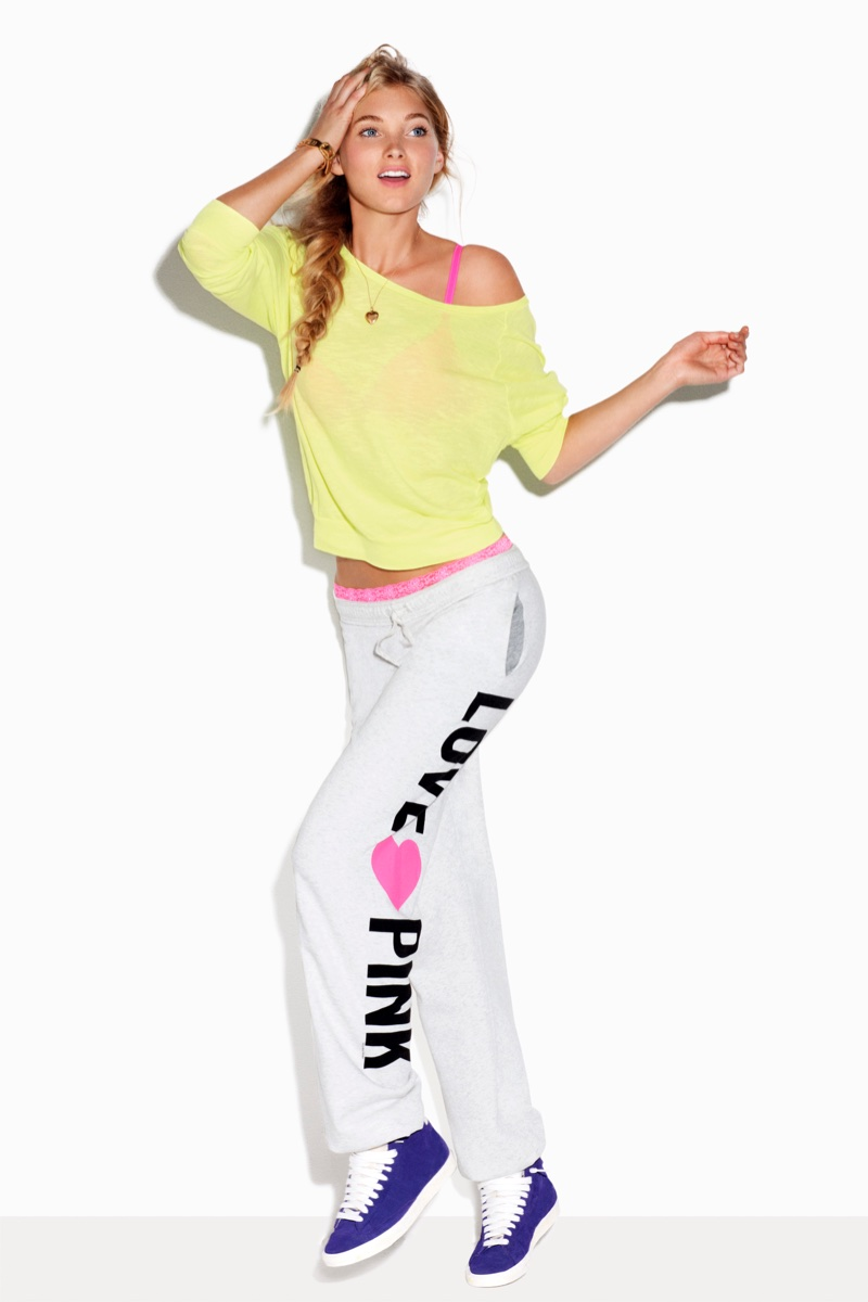Elsa Hosk for Victoria's Secret Pink (2011)