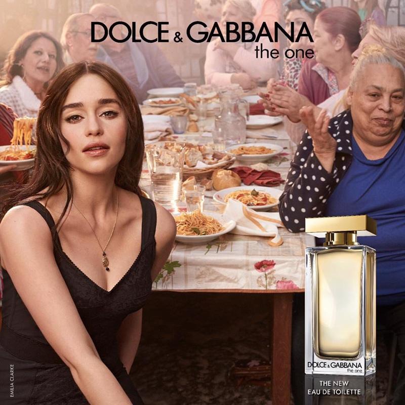 Emilia Clarke stars in Dolce & Gabbana The One Eau de Toilette campaign