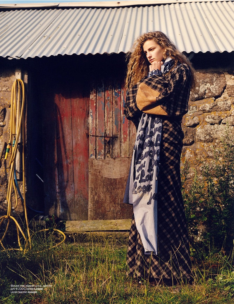 Felice Noordhoff Layers Up in Fall Fashions for Vogue Netherlands