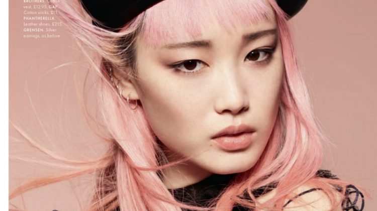 Fernanda Ly Captivates in Dior's Fall Looks for ELLE UK