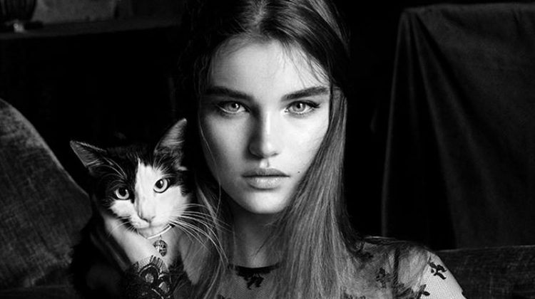 Givenchy Features Felines in First Campaign Under Clare Waight Keller