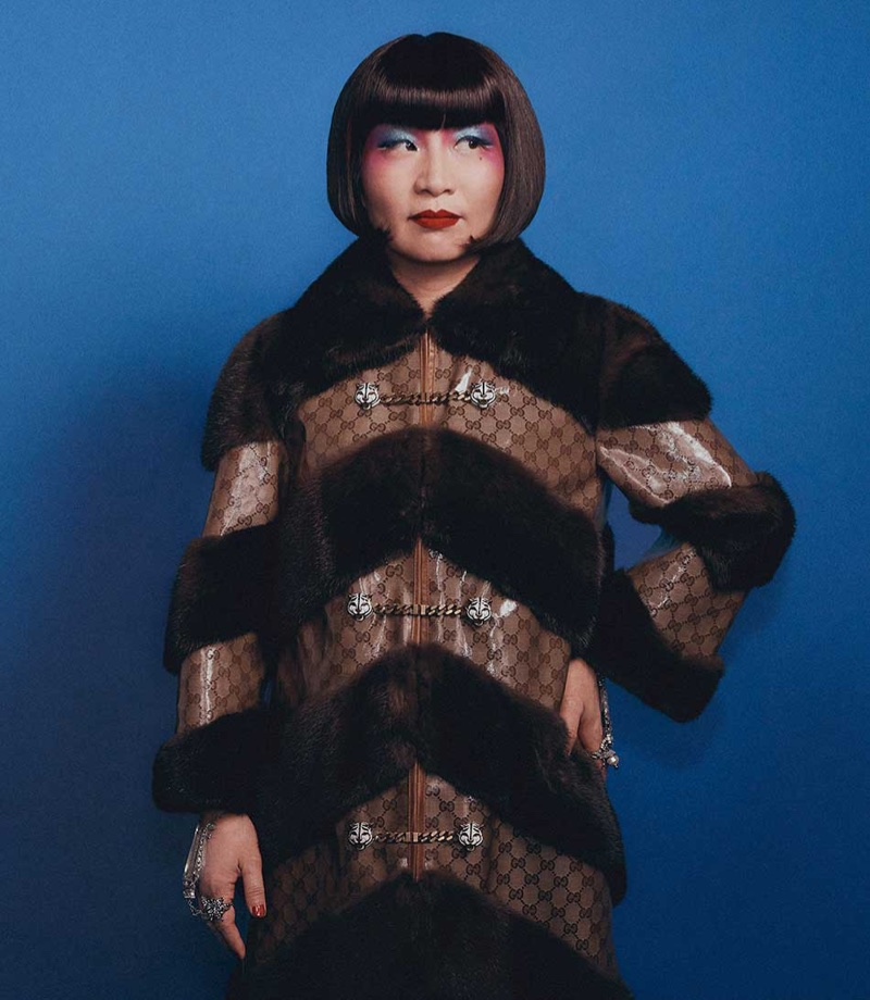Sonia Hang fronts Gucci's resort 2018 campaign