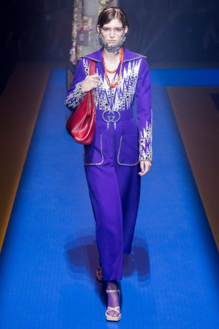 Gucci Embraces Maximalism for Spring 2018