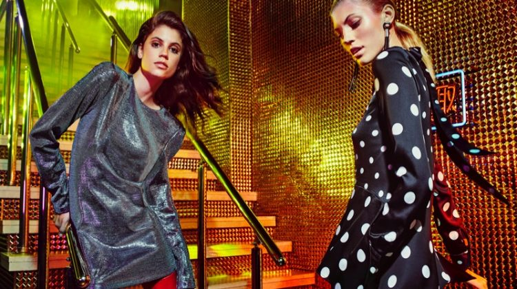Antonina Petkovic and Devon Windsor star in H&M's fall 2017 campaign