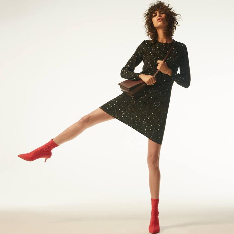 H&M Crêped Dress and Bag