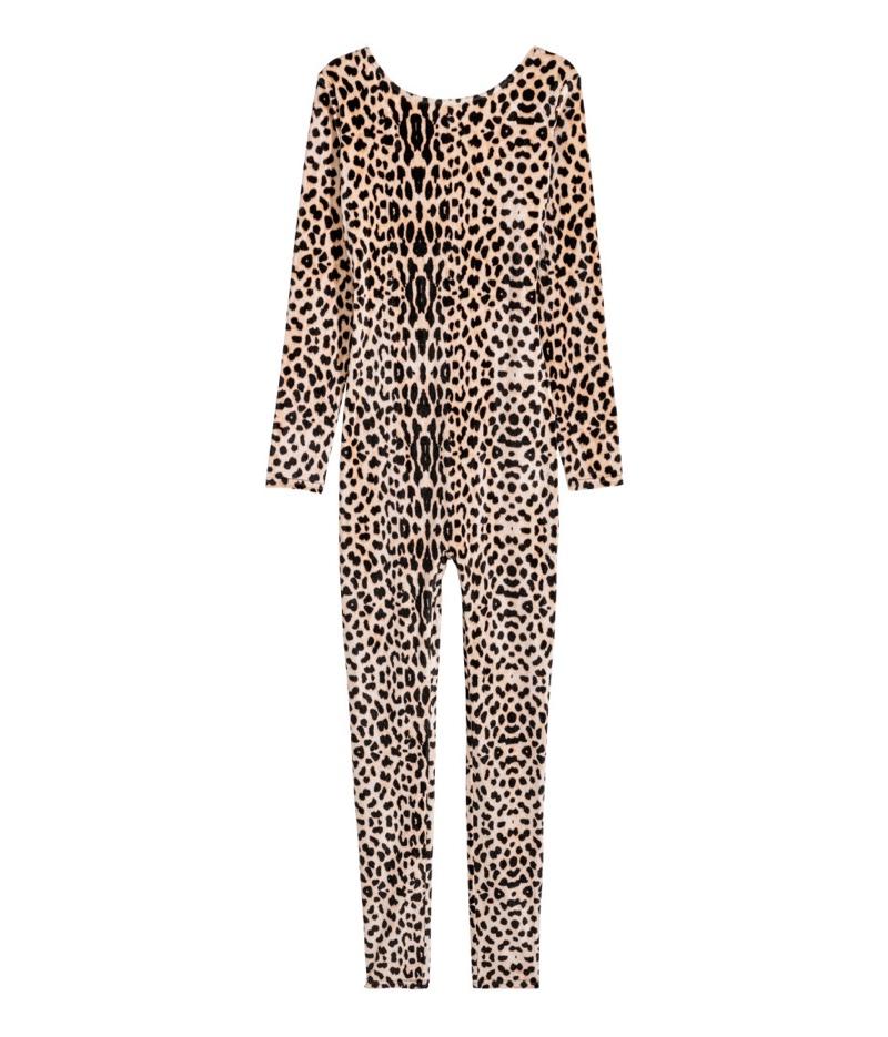 H&M Velour Leopard Costume $29.99