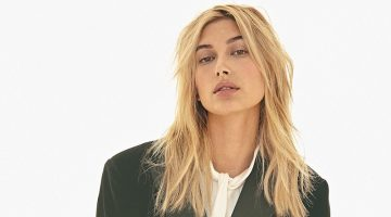Hailey Baldwin Models Elegant Styles for S Moda