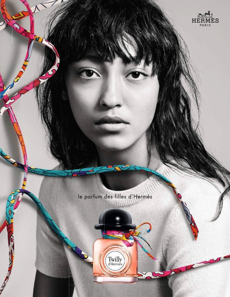 Cai Lee stars in Twilly d'Hermès fragrance campaign