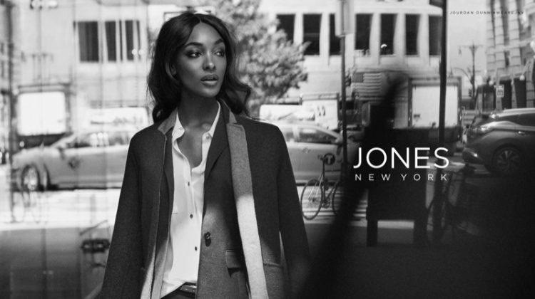 Jourdan Dunn stars in Jones New York fall-winter 2017 campaign