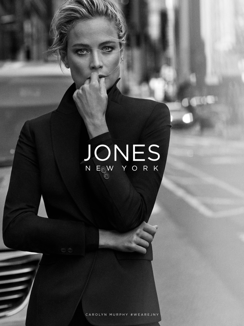 Carolyn Murphy stars in Jones New York fall-winter 2017 campaign