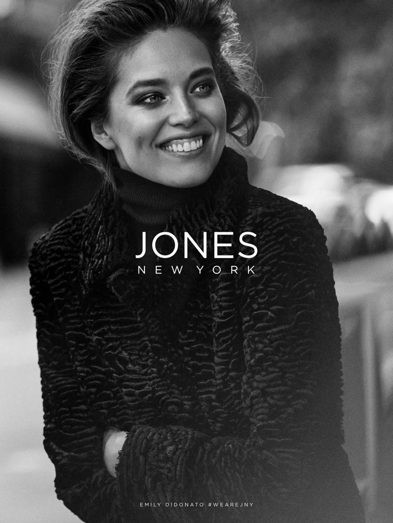 Emily DiDonato fronts Jones New York's fall-winter 2017 campaign