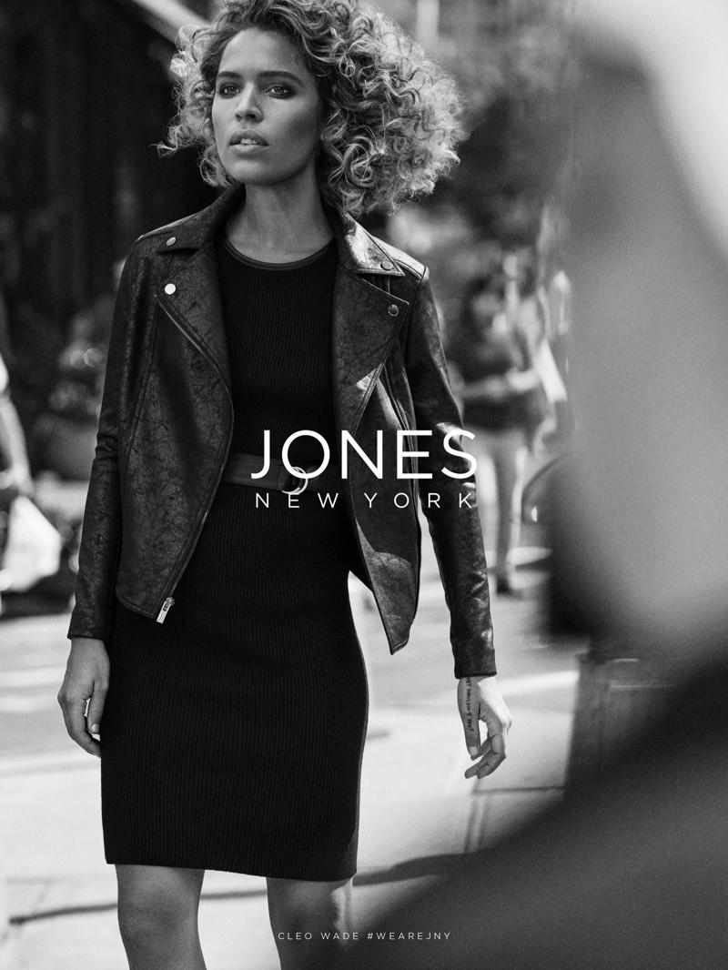 Cleo Wade stars in Jones New York fall-winter 2017 campaign