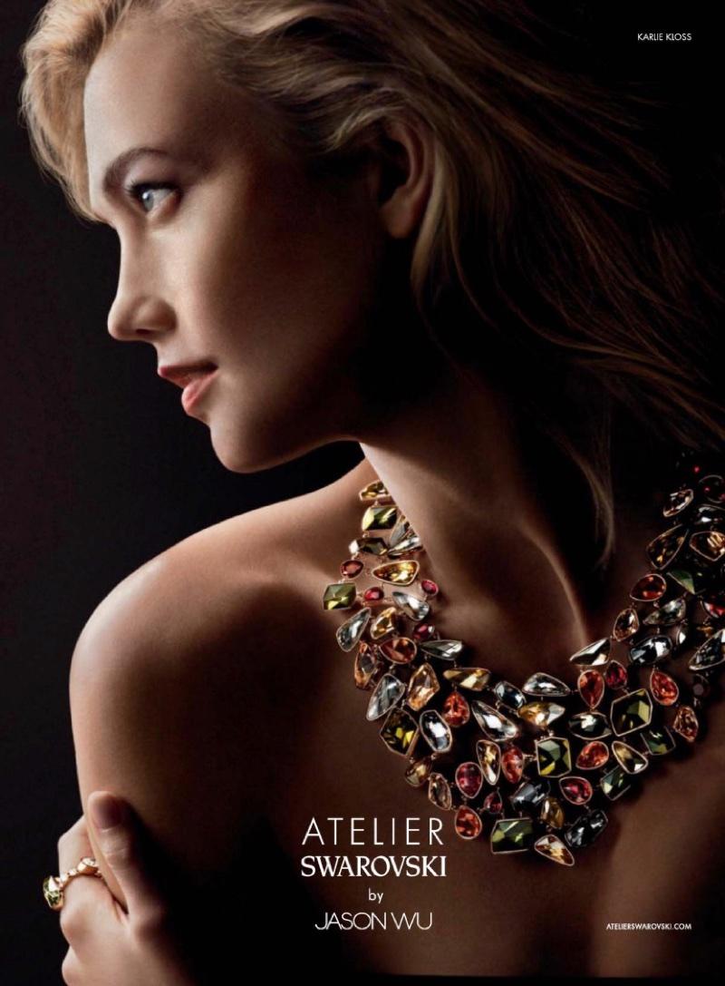 Karlie Kloss dazzles in Atelier Swarovski by Jason Wu campaign