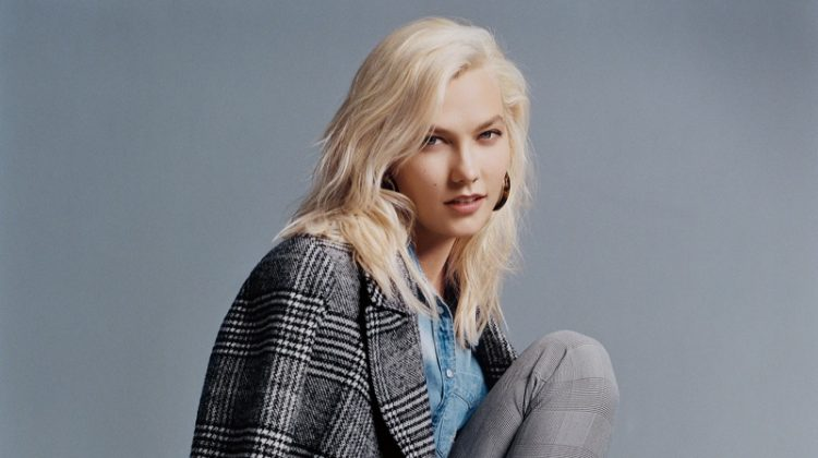 Karlie Kloss stars in Express' fall-winter 2017 campaign