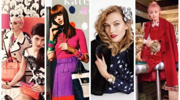 Pop of Color: Discover Kate Spade's Ads Through the Years