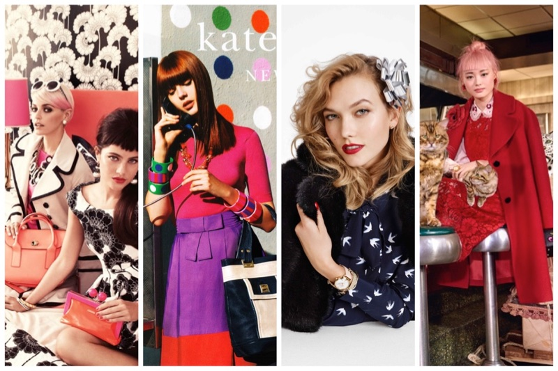 Discover Kate Spade ads throughout the years