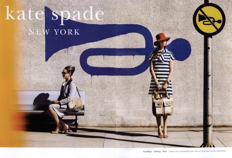 Kate Spade features a playful scene for its spring-summer 2009 ad campaign