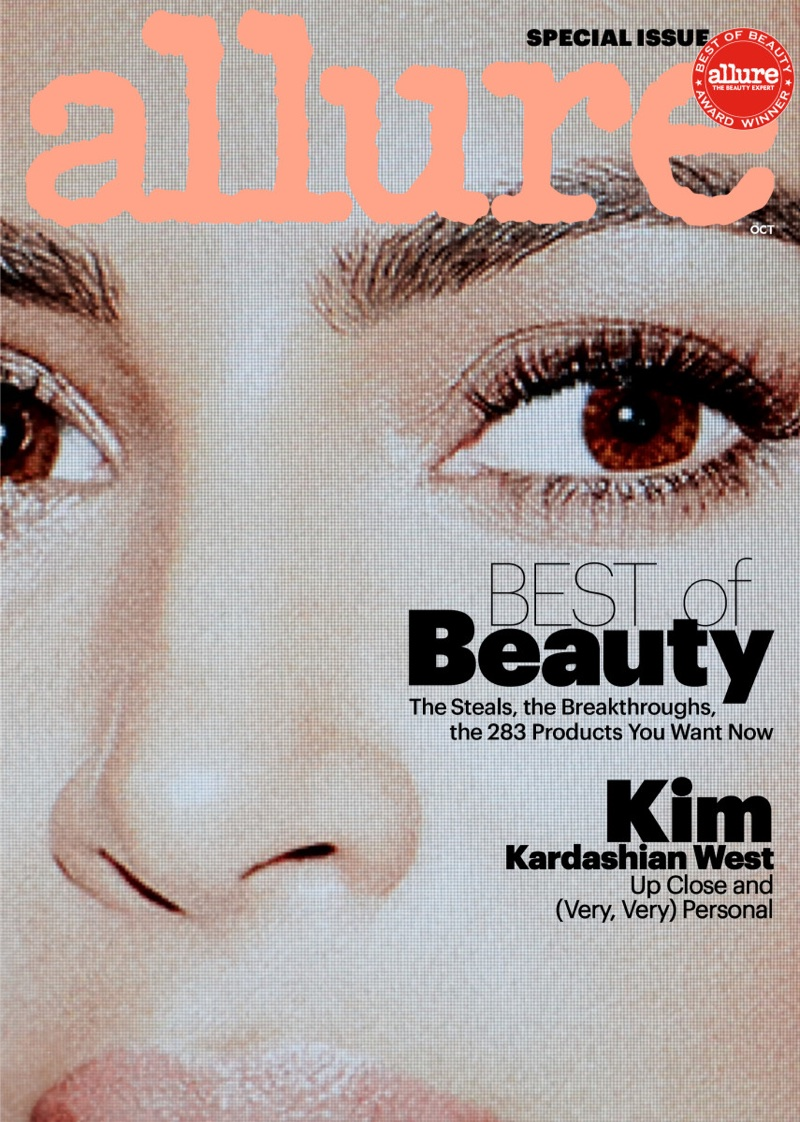 Kim Kardashian on Allure October 2017 Cover
