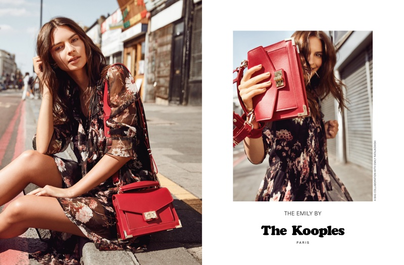 Emily Ratajkowski fronts The Kooples' fall-winter 2017 campaign