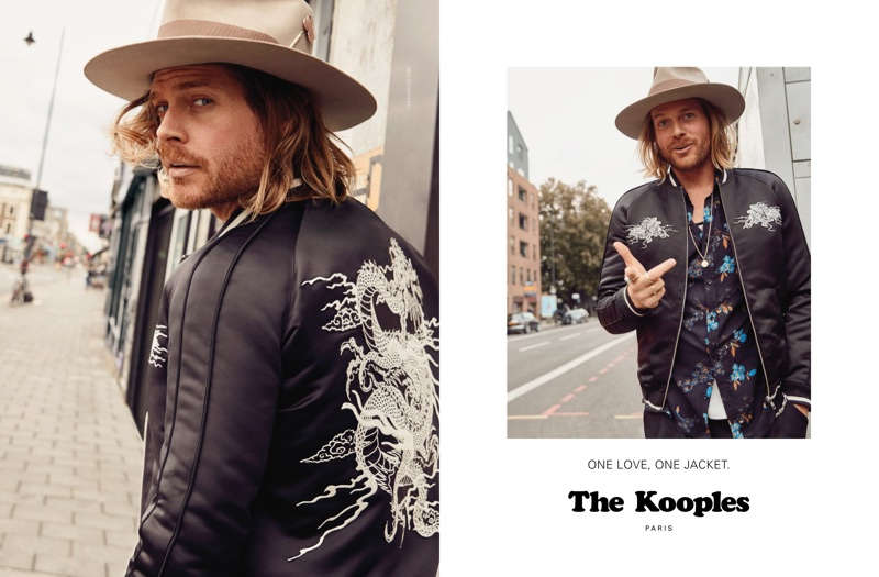 Nick Fouquet stars in The Kooples' fall-winter 2017 campaign