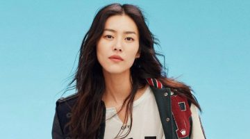 Liu Wen Poses in Statement Fashions for InStyle China