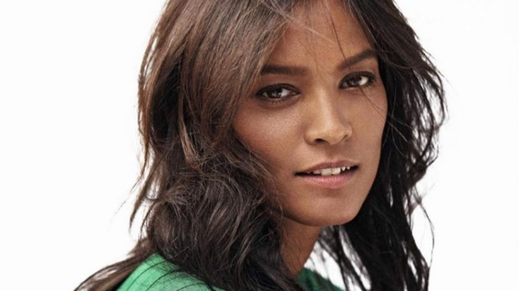 Liya Kebede Models Casual Chic Styles in Grazia France