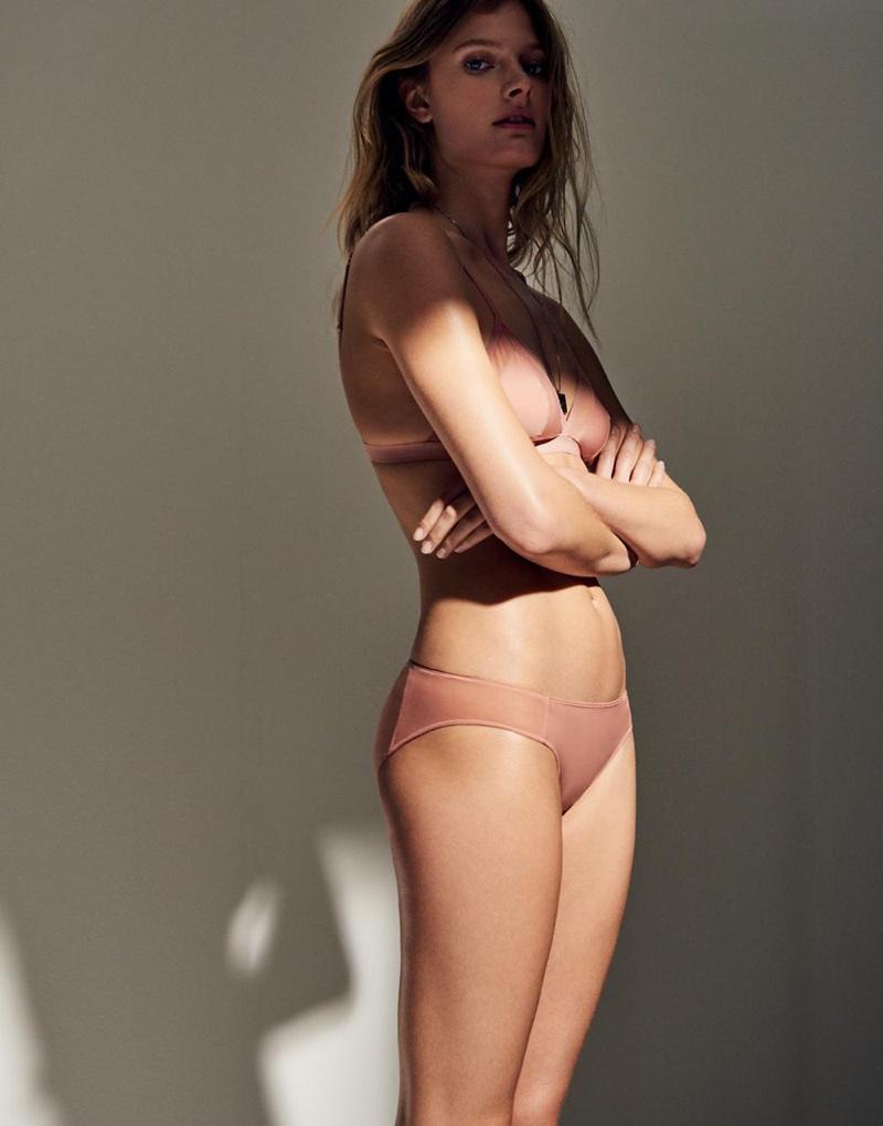 b296471eee ... Madewell Mesh-Trimmed Michele Bralette and Mesh-Trimmed Bikini
