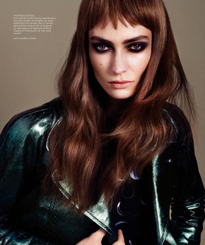 Marine Deleeuw Wears Cool Girl Beauty in Harper's Bazaar Latin America