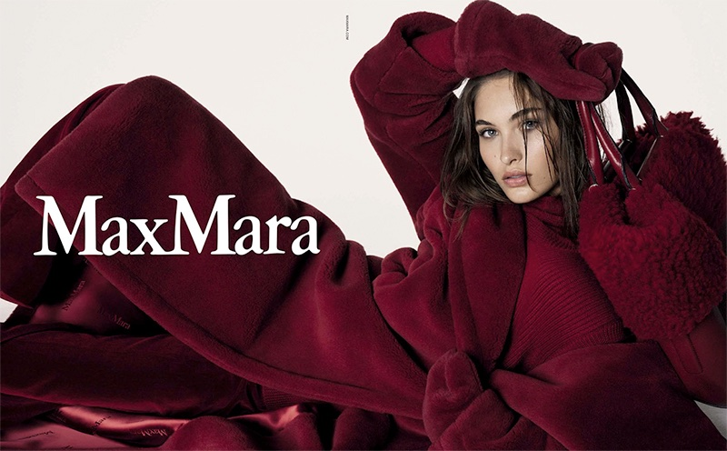 Grace Elizabeth stars in Max Mara's fall-winter 2017 campaign