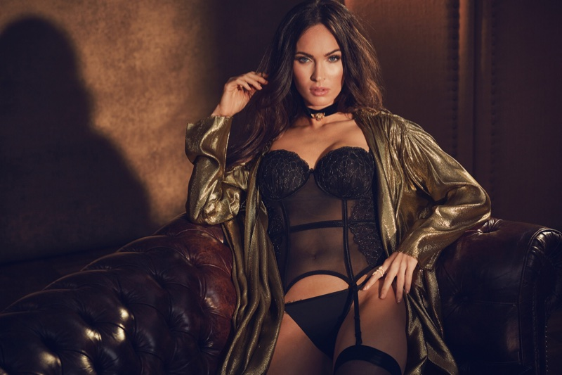 Megan Fox heats up Frederick's of Hollywood fall-winter 2017 campaign