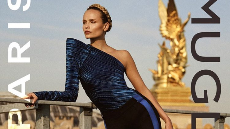 Natasha Poly Looks Super Sleek in Mugler's Fall 2017 Campaign