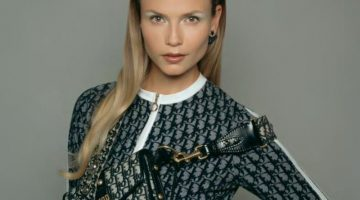 Natasha Poly Has a Case of Logomania in CR Fashion Book