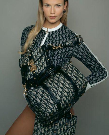 Natasha Poly Has a Case of Logomania in CR Fashion Book