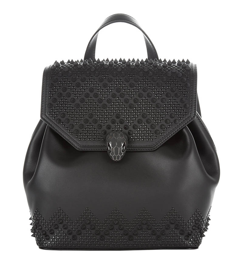 Nicholas Kirkwood Bulgari Serpenti Forever Backpack in Black $2,980