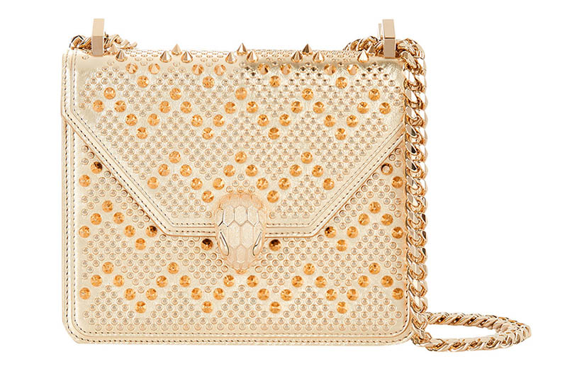 Nicholas Kirkwood x Bulgari Serpenti Forever Cross Body Bag in Gold $2,800
