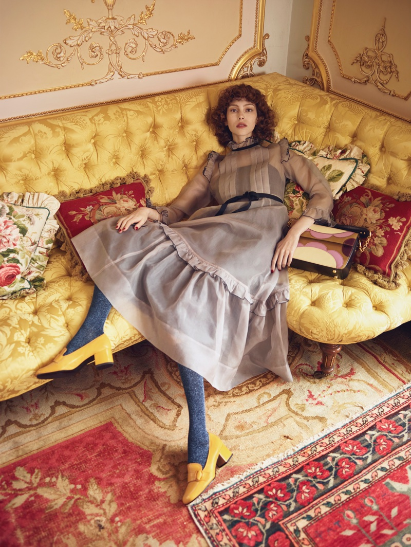 Orla Kiely channels 1970's style for fall-winter 2017 campaign