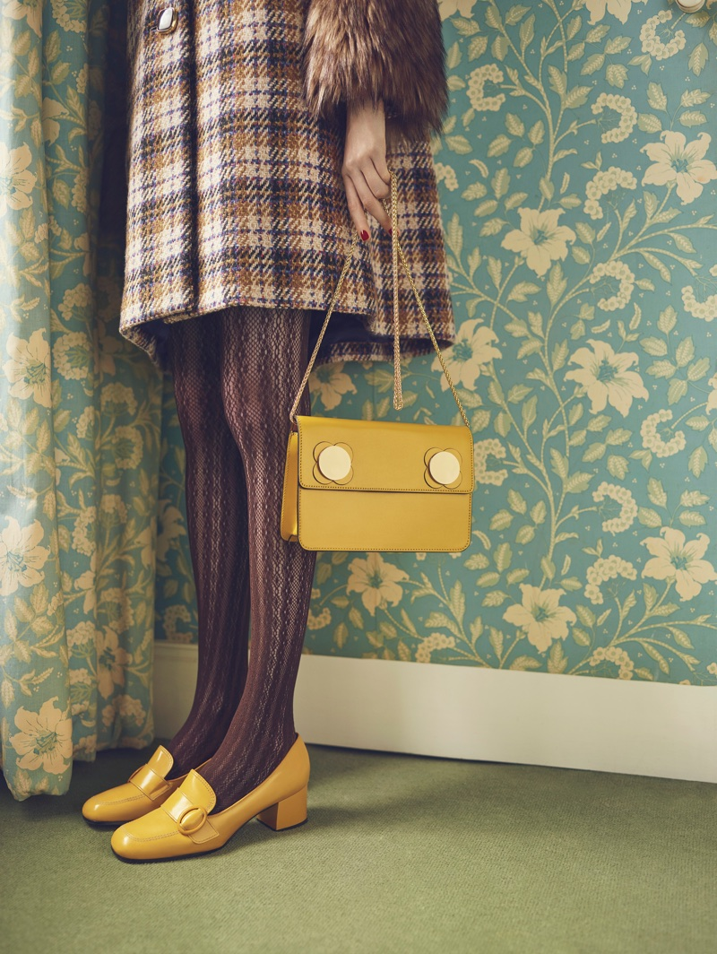 Orla Kiely features colorful accessories in fall-winter 2017 campaign